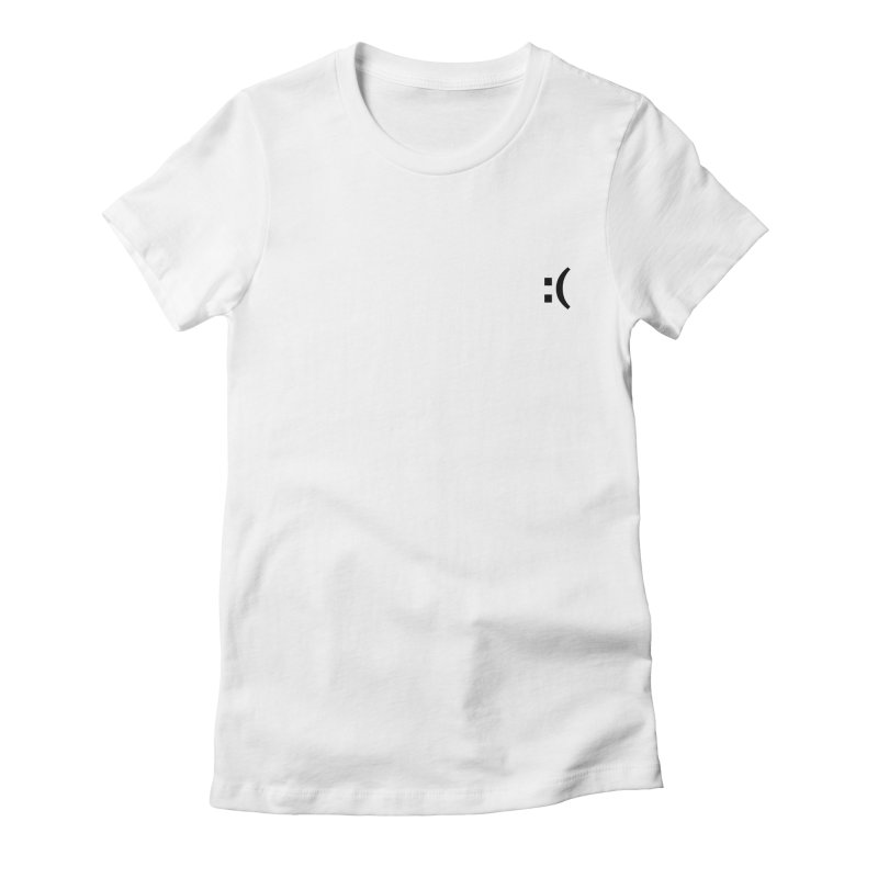 :( Women's Fitted T-Shirt by Rodrigo Tello