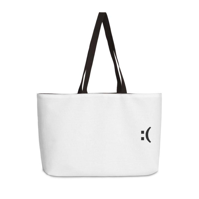 :( Accessories Weekender Bag Bag by Rodrigo Tello