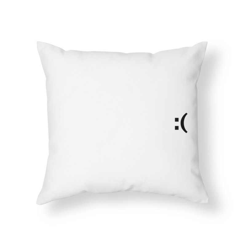 :( Home Throw Pillow by Rodrigo Tello