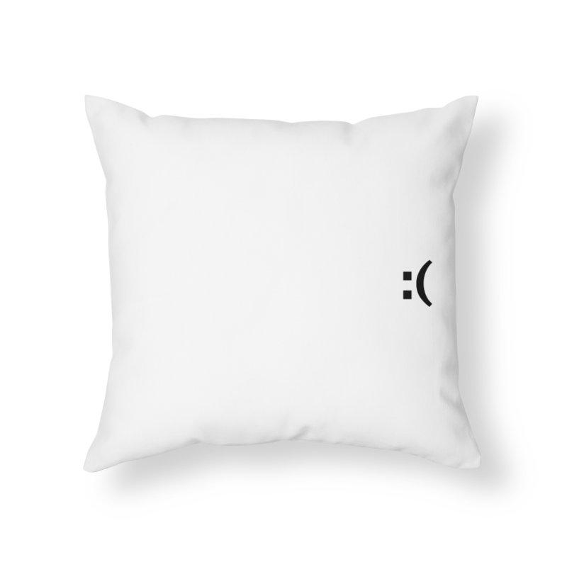 :( Home Throw Pillow by Rodrigo Tello