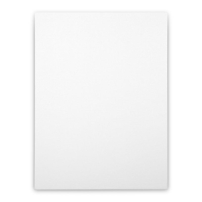 [blank] Home Stretched Canvas by Rodrigo Tello