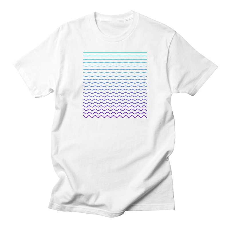 Waves 01 Men's T-Shirt by Rodrigo Tello