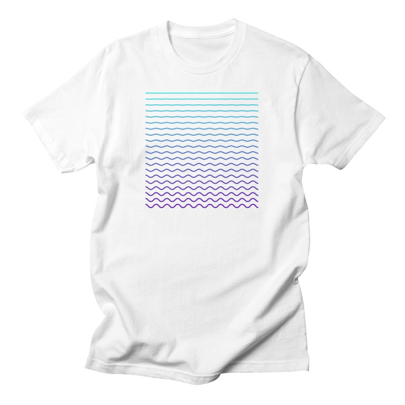 Waves 01 Men's T-Shirt by Rodrigo Tello