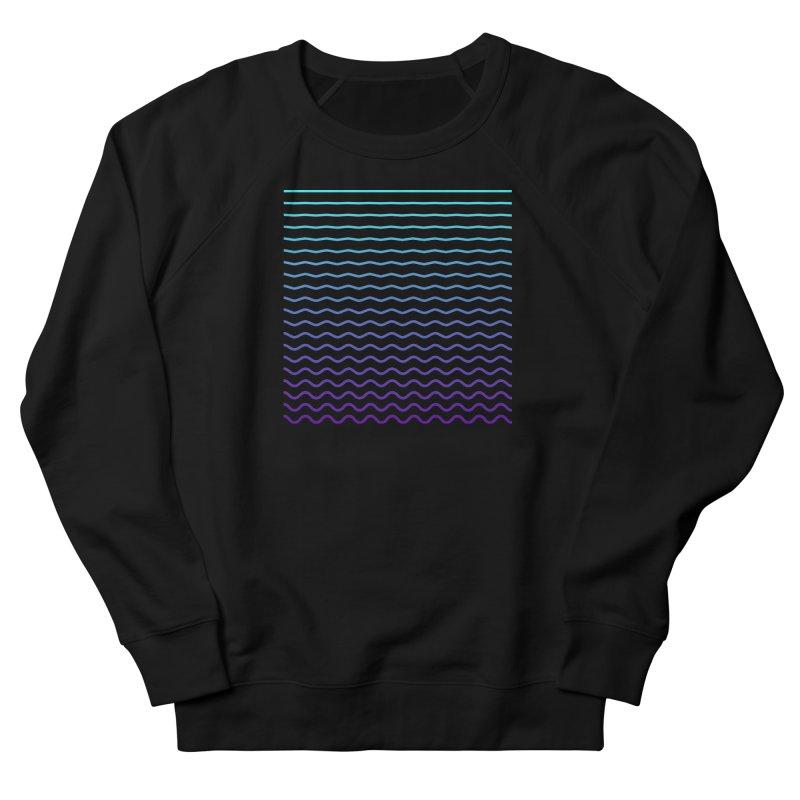 Waves 01 Women's French Terry Sweatshirt by Rodrigo Tello