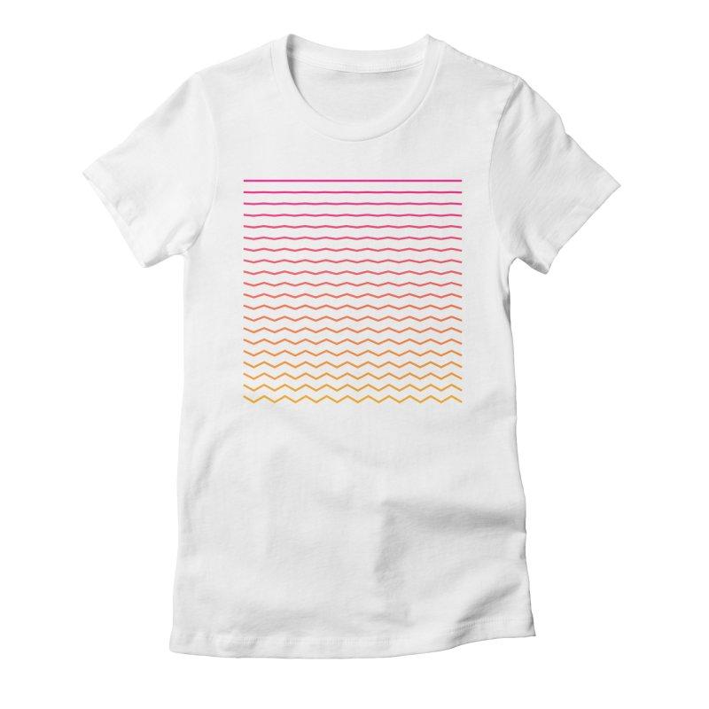 Waves 02 Women's T-Shirt by Rodrigo Tello