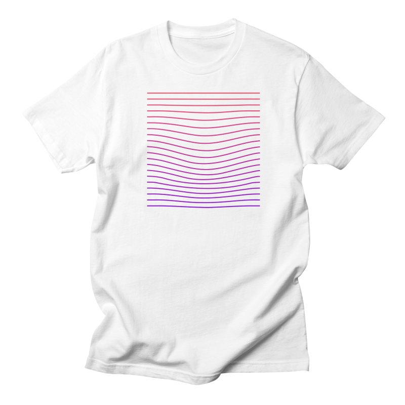 Waves 03 in Men's T-shirt White by Rodrigo Tello