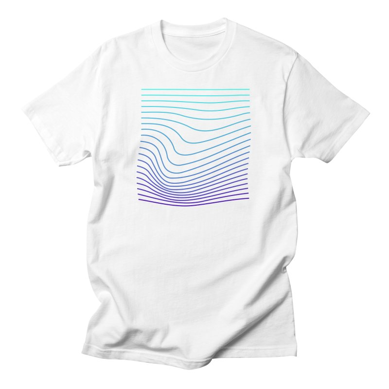 Waves 04 Men's T-Shirt by Rodrigo Tello