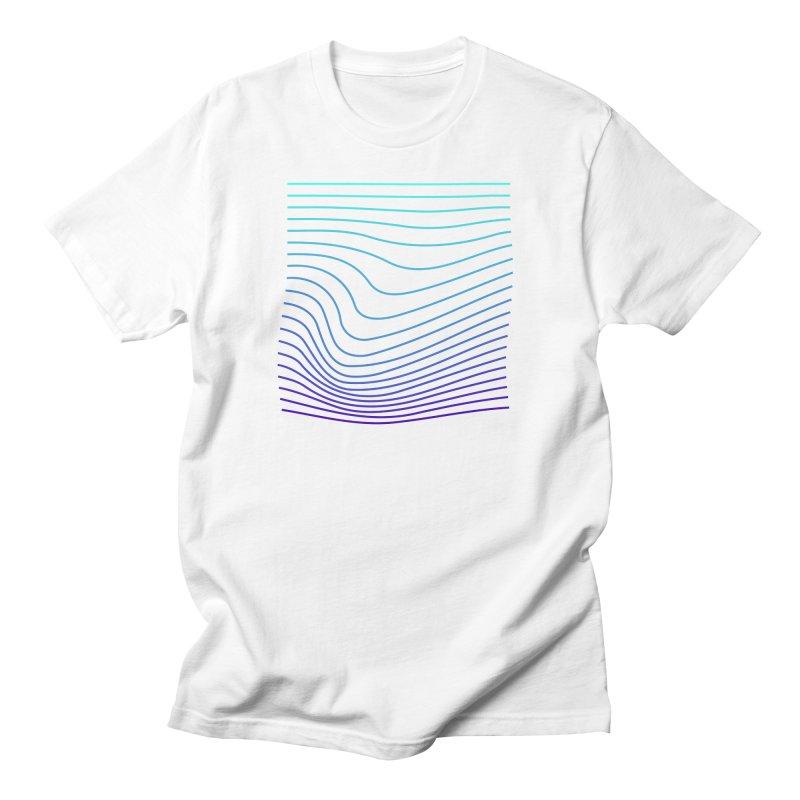 Waves 04 Men's T-Shirt by Rodrigo Tello