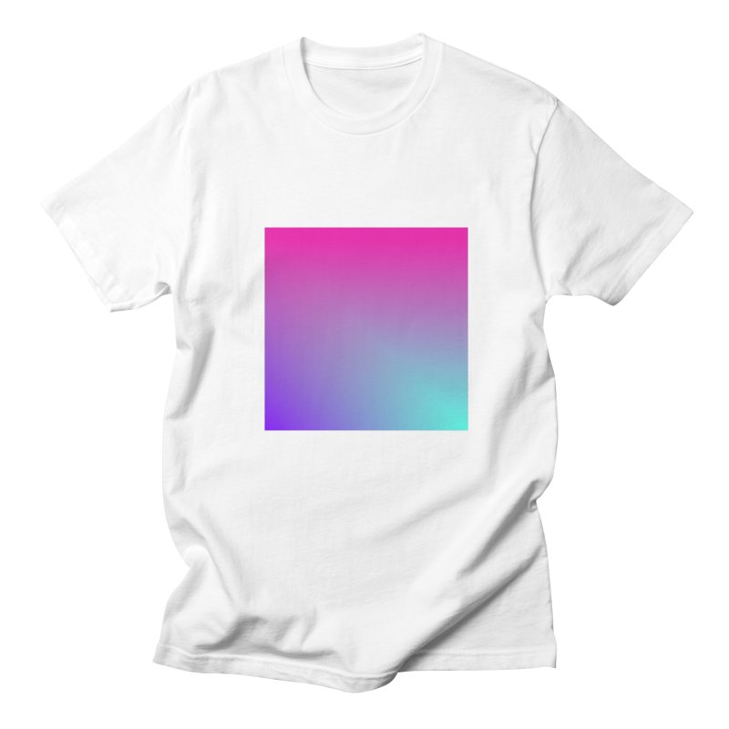 Square 01 in Men's Regular T-Shirt White by Rodrigo Tello