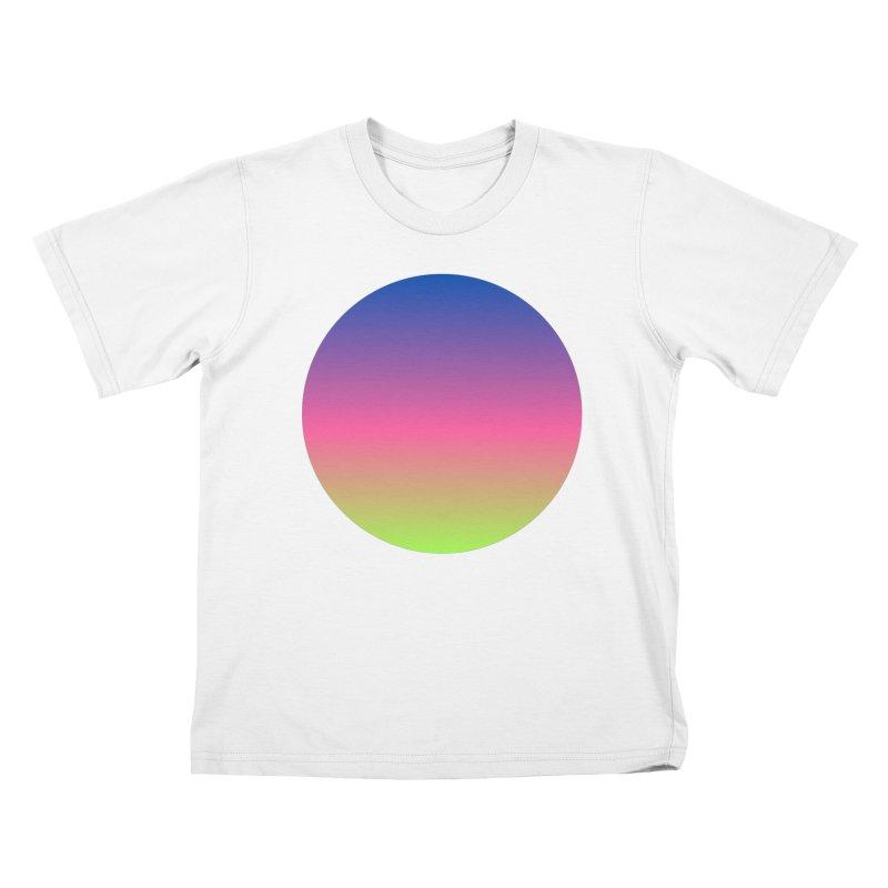 Circle Kids T-Shirt by Rodrigo Tello