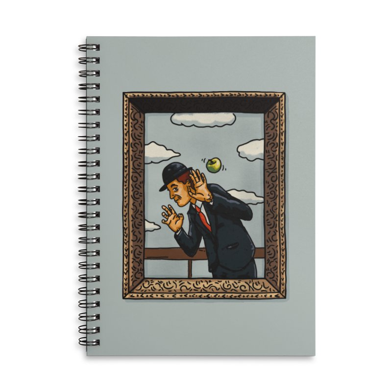 The Son of a... Accessories Lined Spiral Notebook by Rodrigobhz