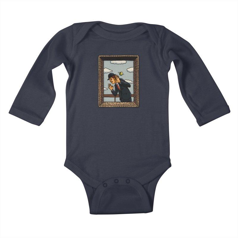 The Son of a... Kids Baby Longsleeve Bodysuit by Rodrigobhz