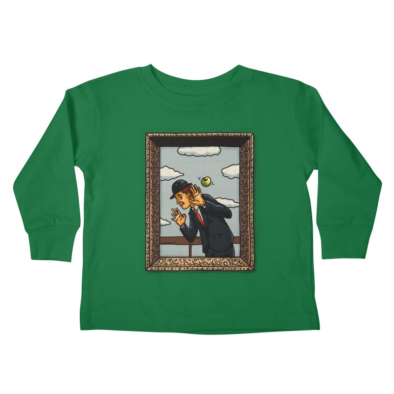 The Son of a... Kids Toddler Longsleeve T-Shirt by Rodrigobhz