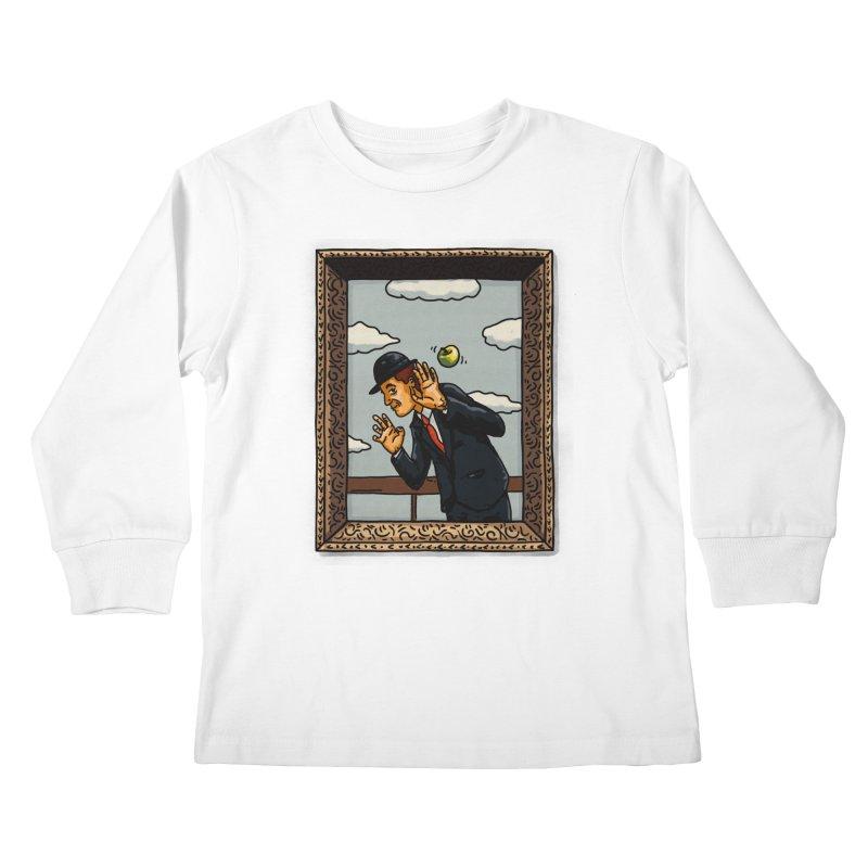 The Son of a... Kids Longsleeve T-Shirt by Rodrigobhz