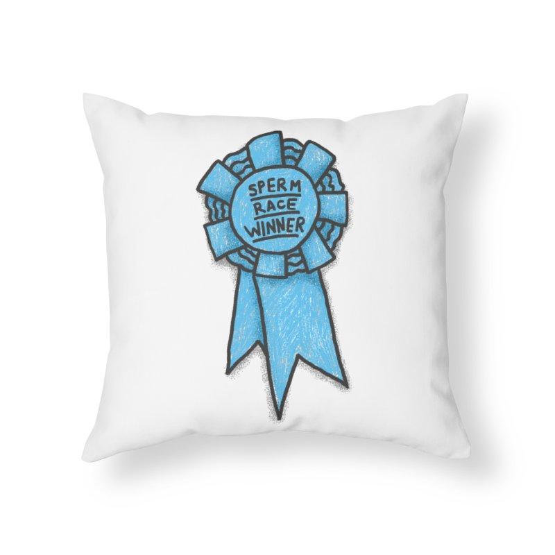 Everyone is a winner Home Throw Pillow by Rodrigobhz