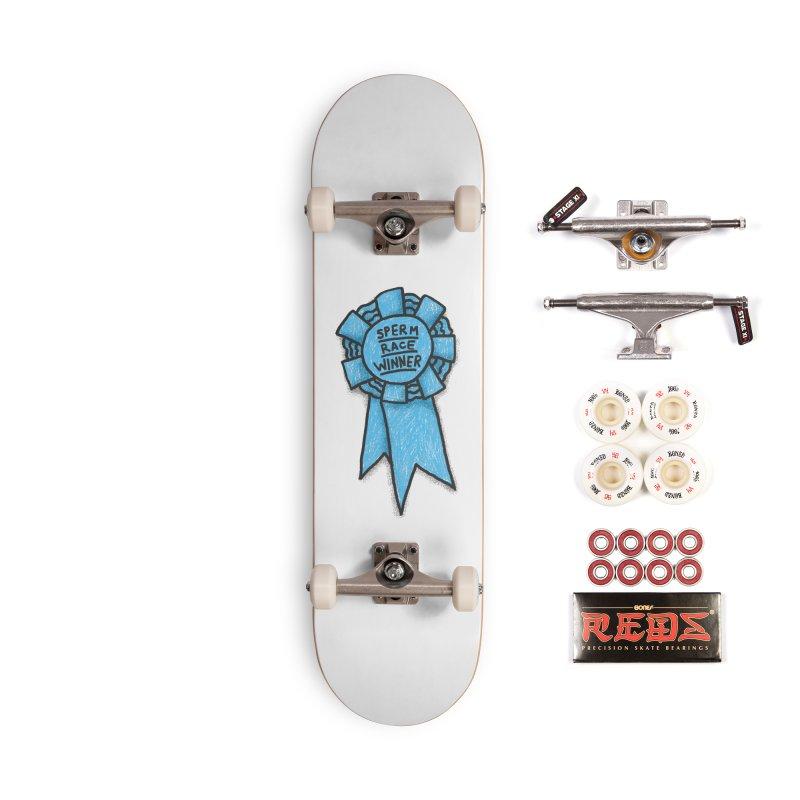 Everyone is a winner Accessories Complete - Pro Skateboard by Rodrigobhz