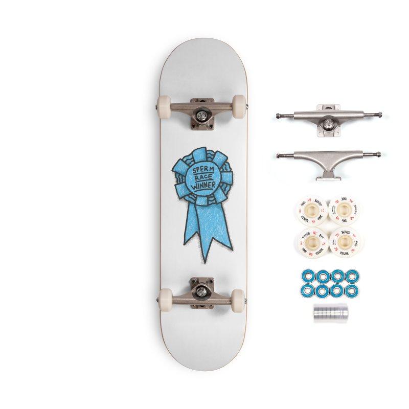 Everyone is a winner Accessories Complete - Premium Skateboard by Rodrigobhz