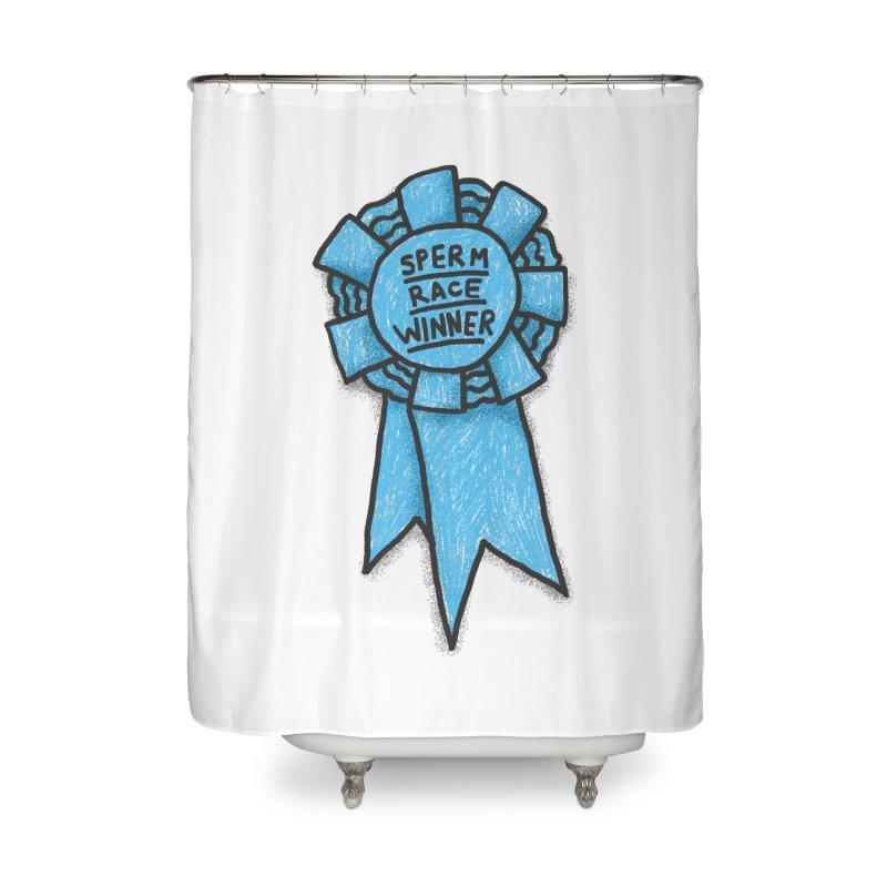 Everyone is a winner Home Shower Curtain by Rodrigobhz