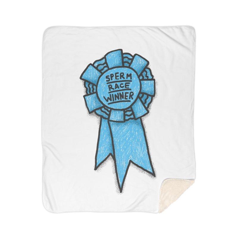 Everyone is a winner Home Sherpa Blanket Blanket by Rodrigobhz