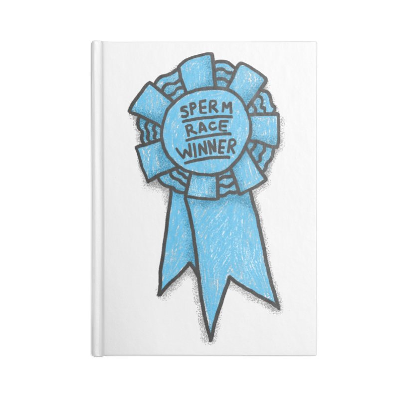 Everyone is a winner Accessories Lined Journal Notebook by Rodrigobhz