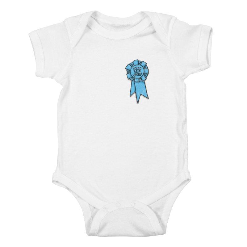 Everyone is a winner Kids Baby Bodysuit by Rodrigobhz