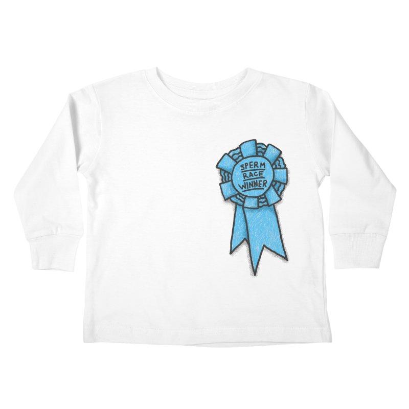 Everyone is a winner Kids Toddler Longsleeve T-Shirt by Rodrigobhz