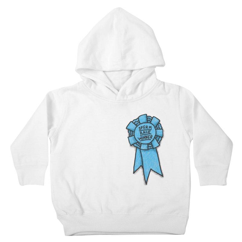 Everyone is a winner Kids Toddler Pullover Hoody by Rodrigobhz