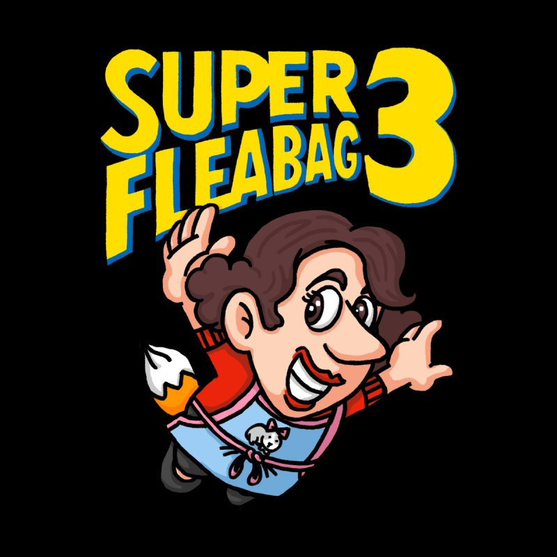 Super Fleabag 3 Men's T-Shirt by Rodrigobhz
