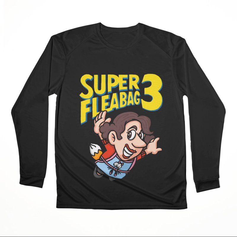 Super Fleabag 3 Men's Performance Longsleeve T-Shirt by Rodrigobhz