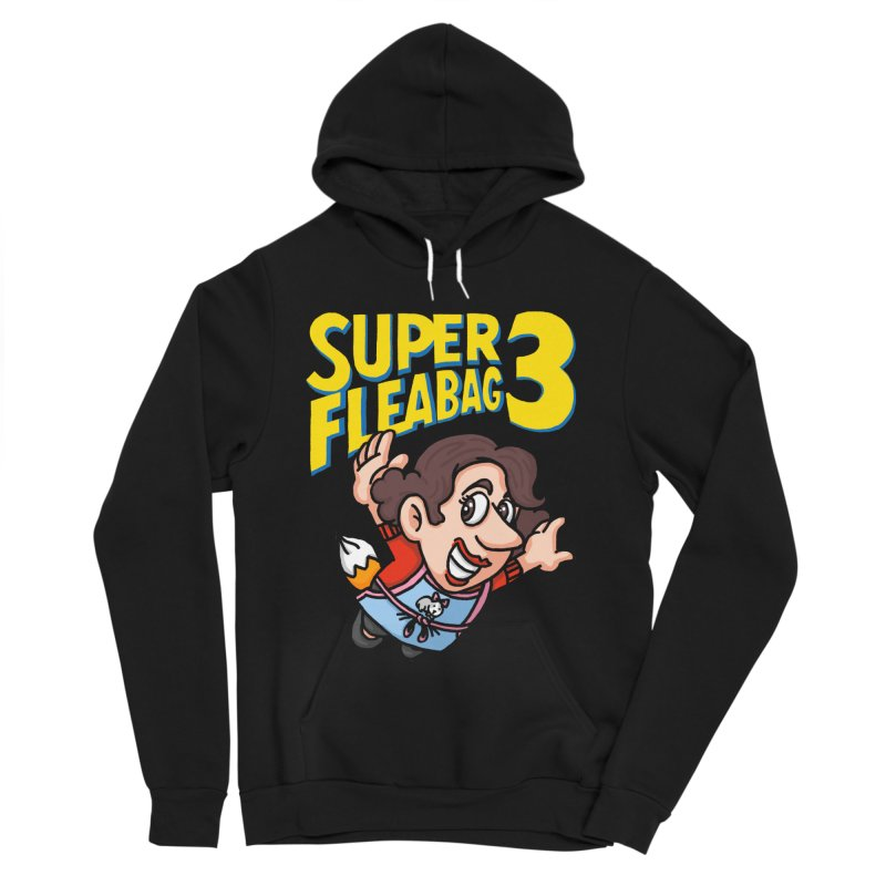 Super Fleabag 3 Men's Sponge Fleece Pullover Hoody by Rodrigobhz