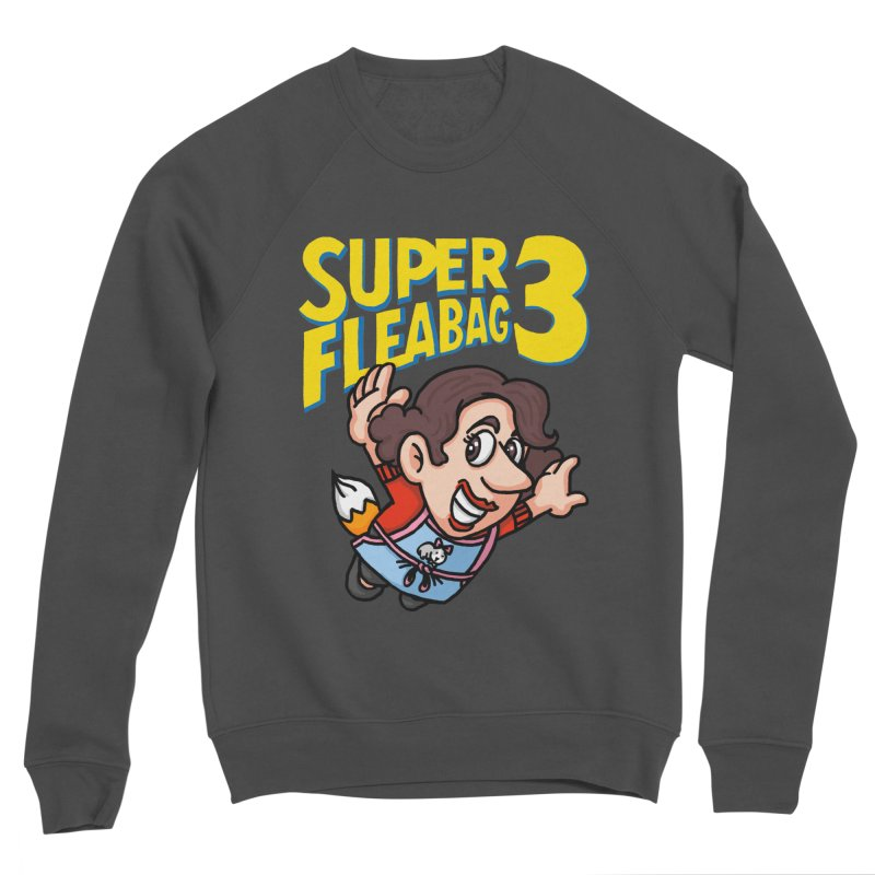 Super Fleabag 3 Women's Sponge Fleece Sweatshirt by Rodrigobhz