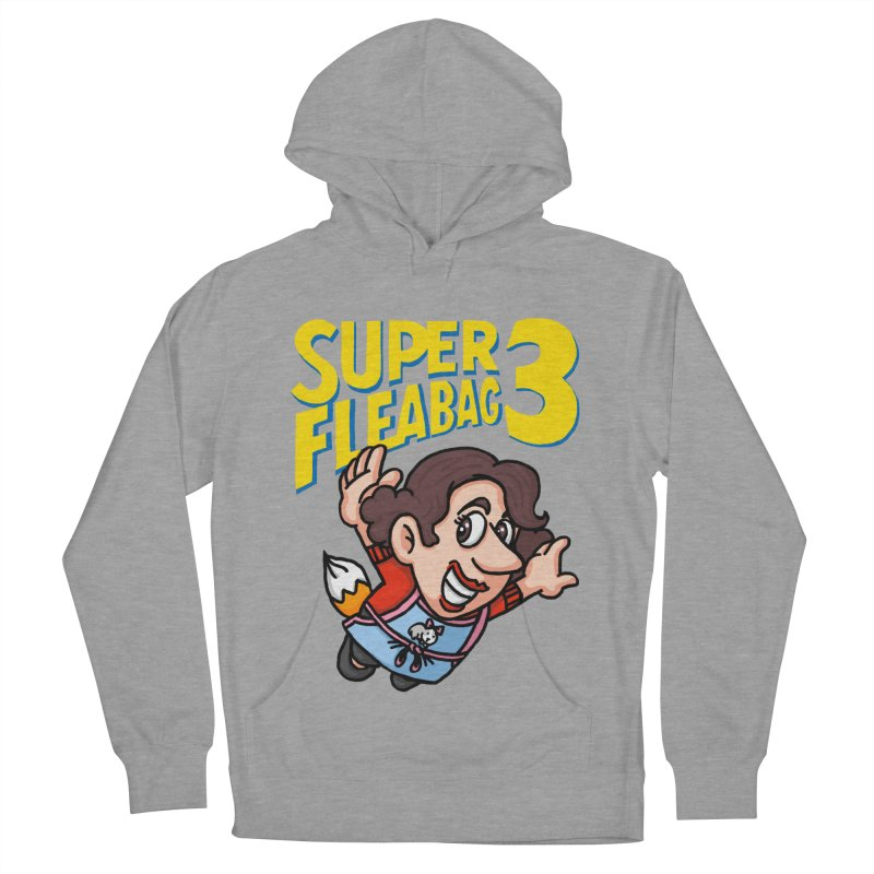 Super Fleabag 3 Men's French Terry Pullover Hoody by Rodrigobhz