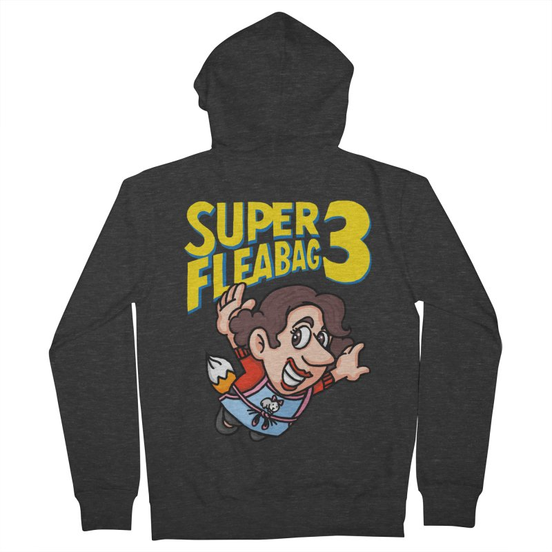 Super Fleabag 3 Men's French Terry Zip-Up Hoody by Rodrigobhz