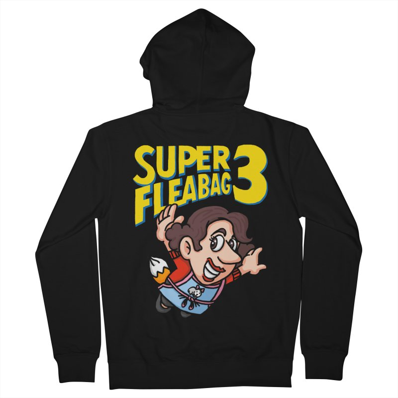 Super Fleabag 3 Men's French Terry Zip-Up Hoody by Rodrigobhz