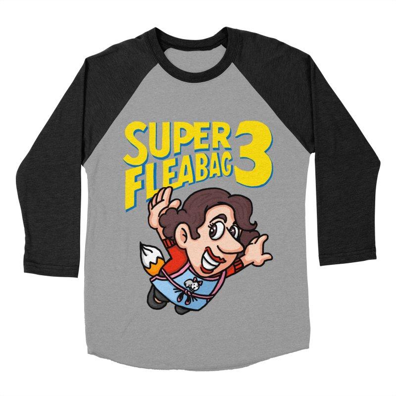 Super Fleabag 3 Women's Baseball Triblend Longsleeve T-Shirt by Rodrigobhz
