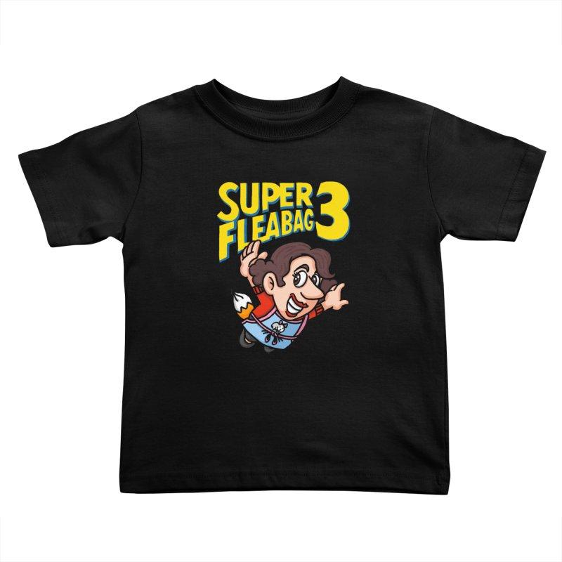Super Fleabag 3 Kids Toddler T-Shirt by Rodrigobhz