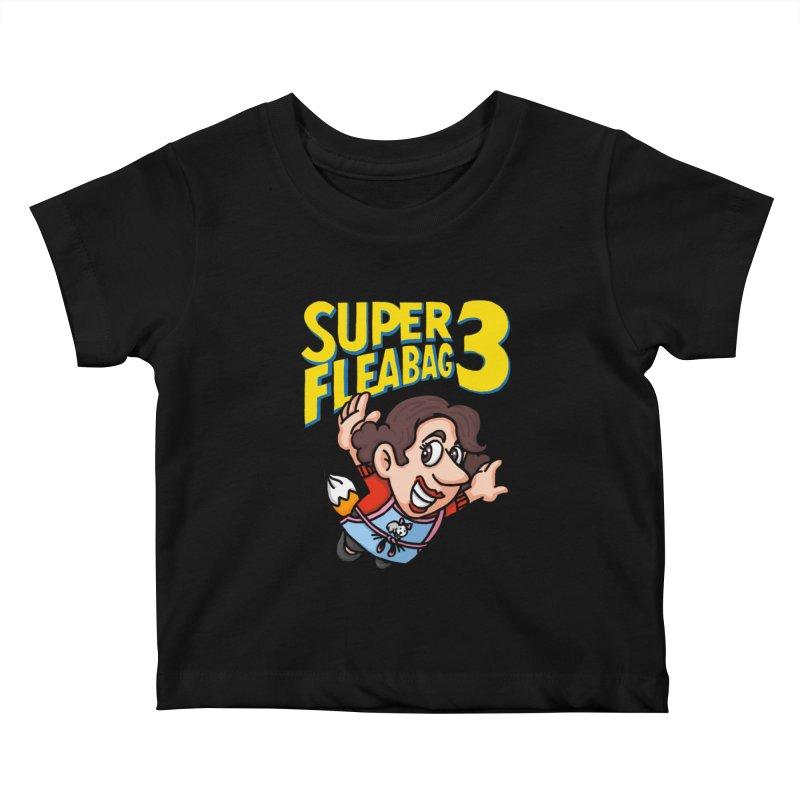 Super Fleabag 3 Kids Baby T-Shirt by Rodrigobhz