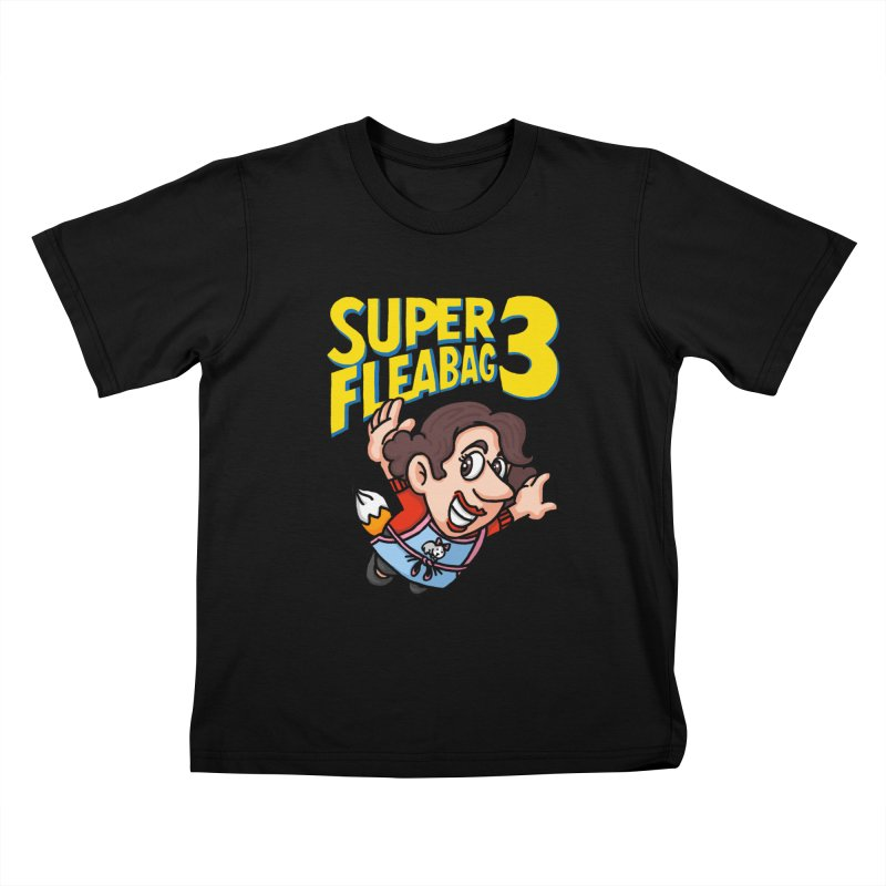 Super Fleabag 3 Kids T-Shirt by Rodrigobhz