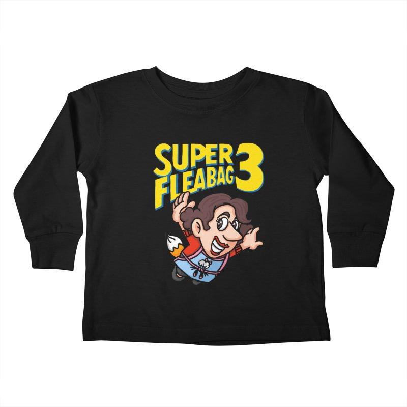 Super Fleabag 3 Kids Toddler Longsleeve T-Shirt by Rodrigobhz