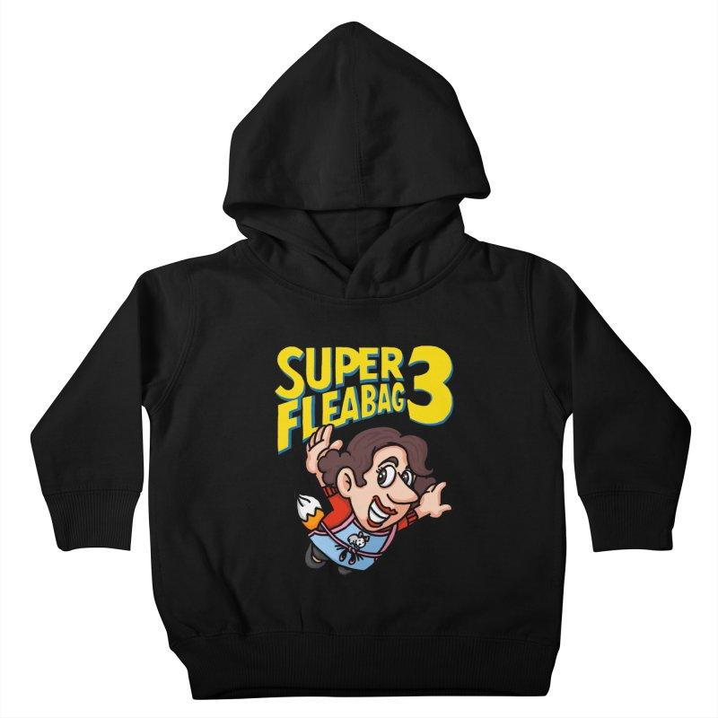 Super Fleabag 3 Kids Toddler Pullover Hoody by Rodrigobhz