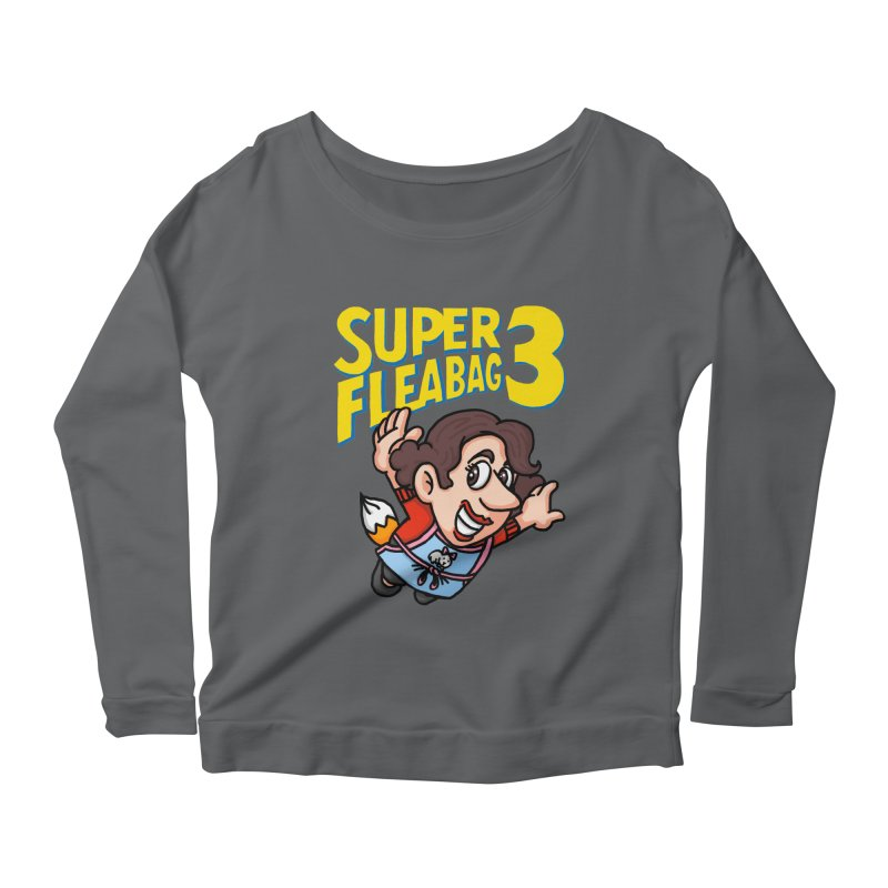 Super Fleabag 3 Women's Scoop Neck Longsleeve T-Shirt by Rodrigobhz