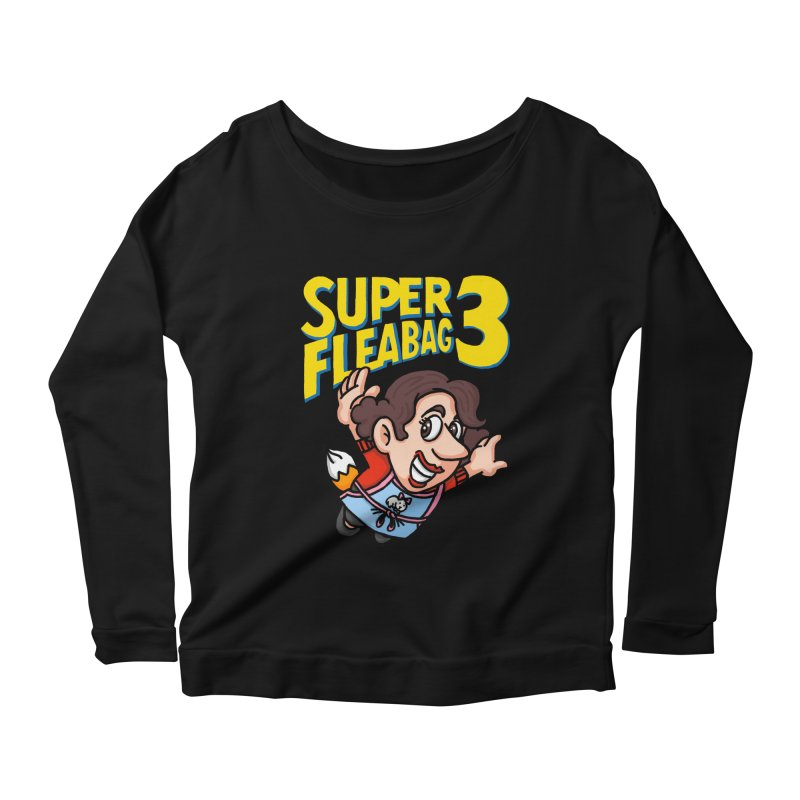 Super Fleabag 3 Women's Scoop Neck Longsleeve T-Shirt by Rodrigobhz