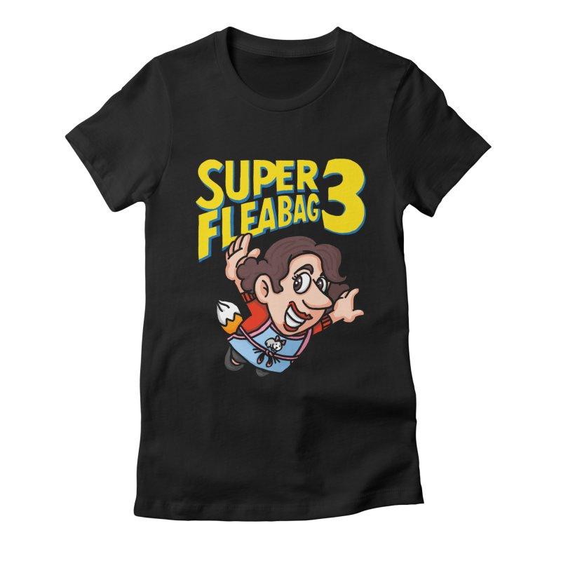 Super Fleabag 3 Women's Fitted T-Shirt by Rodrigobhz