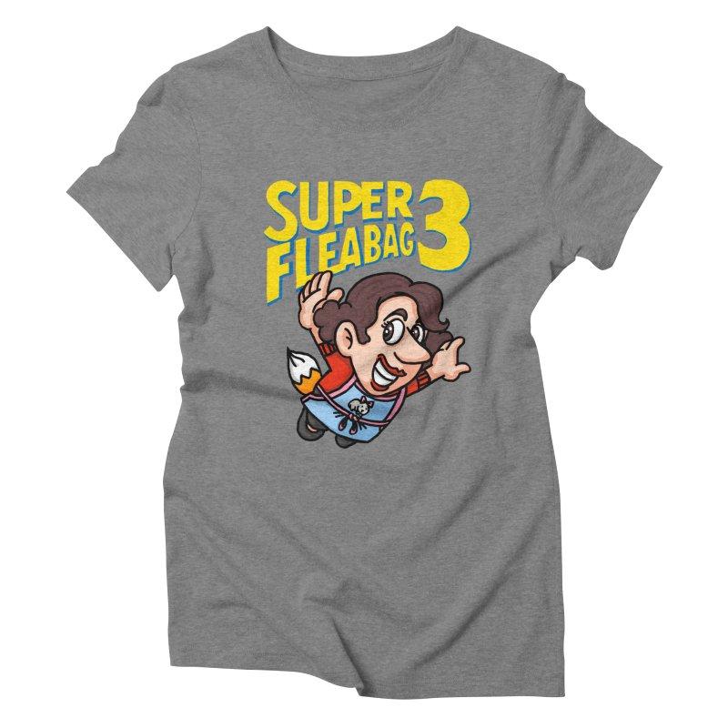 Super Fleabag 3 Women's Triblend T-Shirt by Rodrigobhz