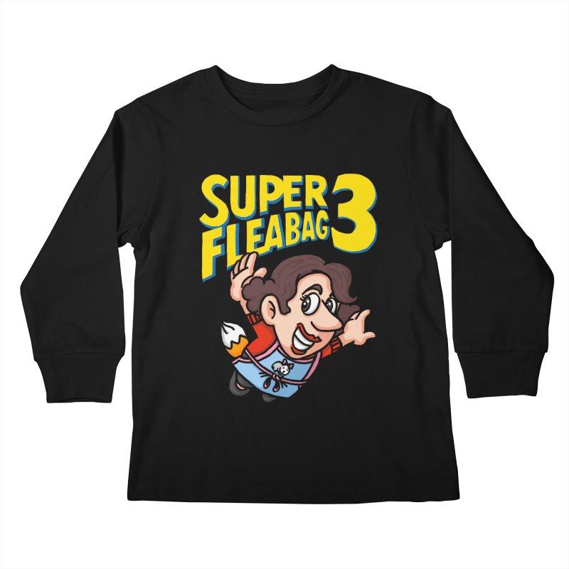 Super Fleabag 3 Kids Longsleeve T-Shirt by Rodrigobhz