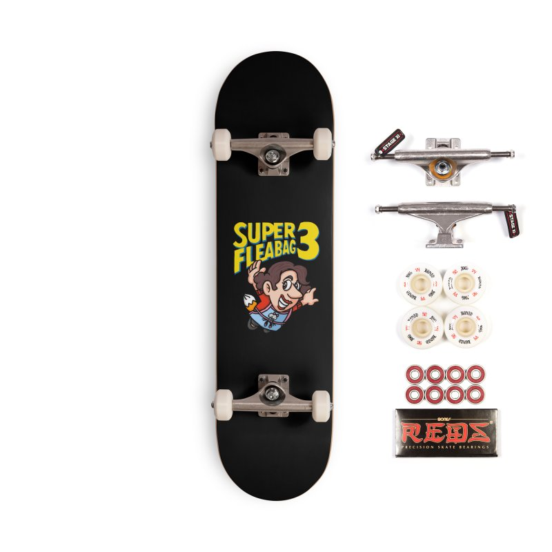 Super Fleabag 3 Accessories Complete - Pro Skateboard by Rodrigobhz