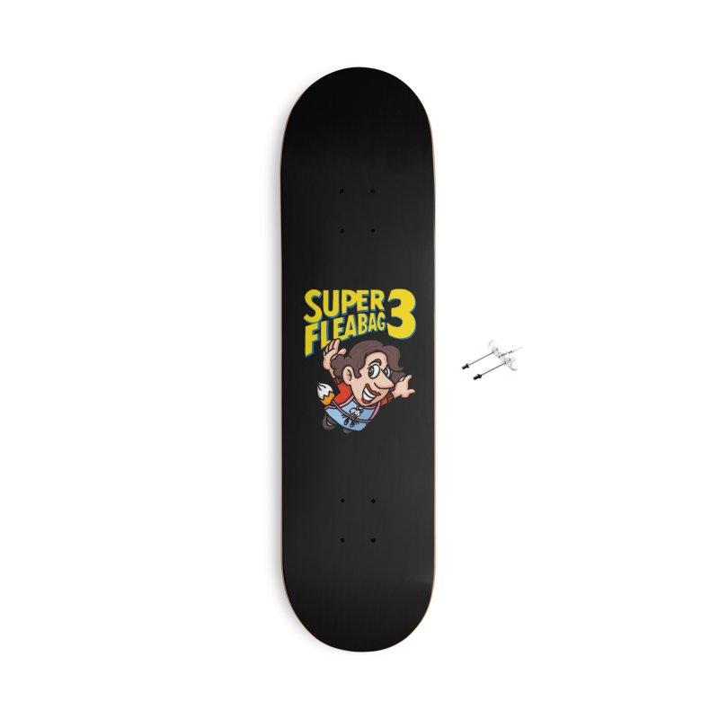 Super Fleabag 3 Accessories With Hanging Hardware Skateboard by Rodrigobhz