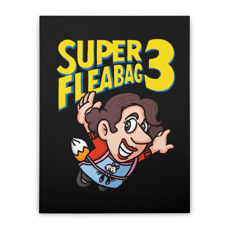 Super Fleabag 3 Home Stretched Canvas by Rodrigobhz