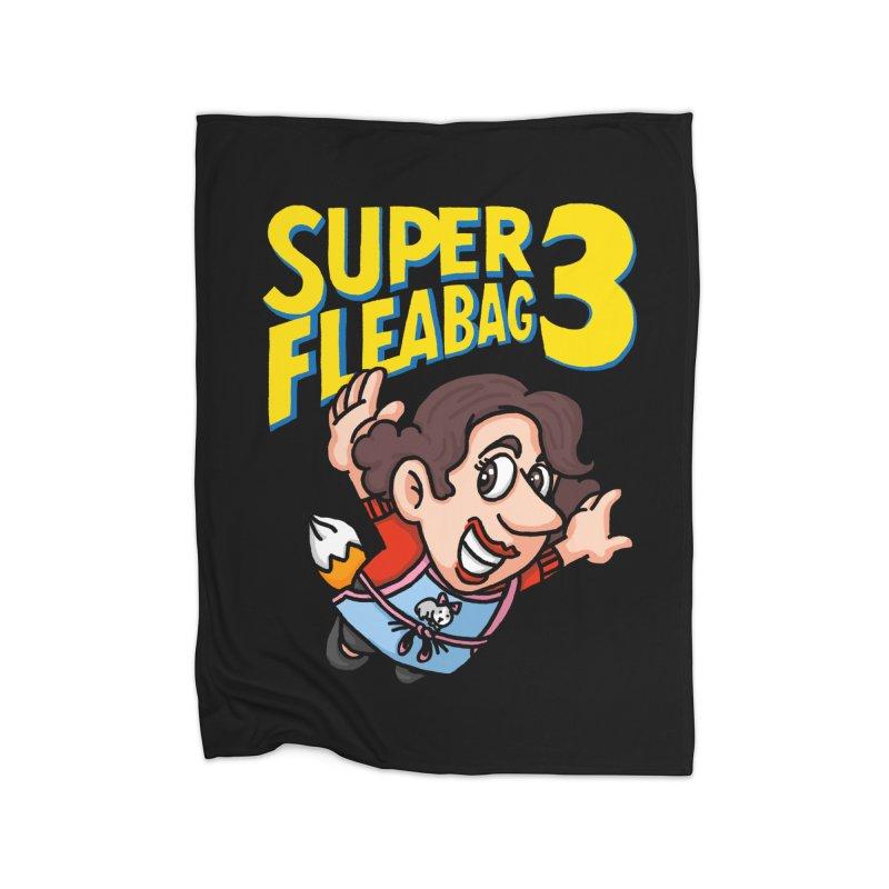 Super Fleabag 3 Home Fleece Blanket Blanket by Rodrigobhz