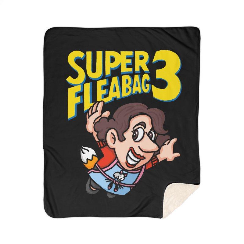 Super Fleabag 3 Home Sherpa Blanket Blanket by Rodrigobhz